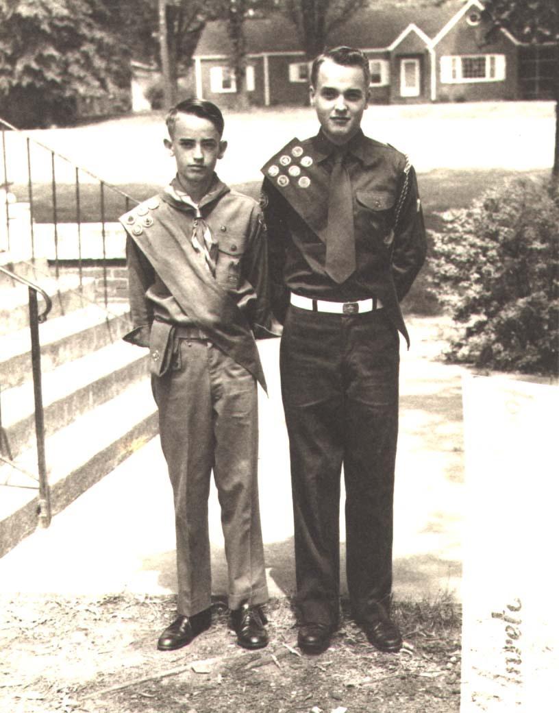 Scouts in Summerville, Georgia