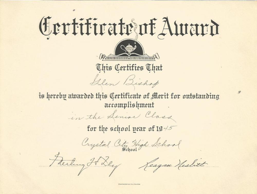 Award 1945